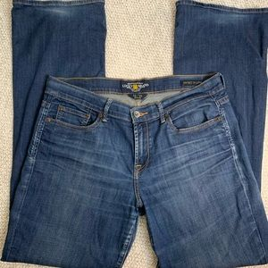Lucky Brand Sweet N Low Flare Jeans Size 12/31